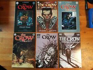 The Crow comics lot