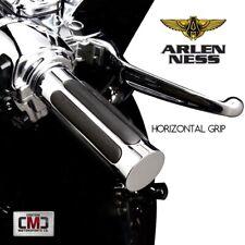 Arlen Ness Harley Davidson Chrome Billet Throttle By Wire Handlebar Grips New