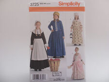 Simplicity 3725, Andrea Schewe Pioneer/Prarie Girl Sizes 3-6