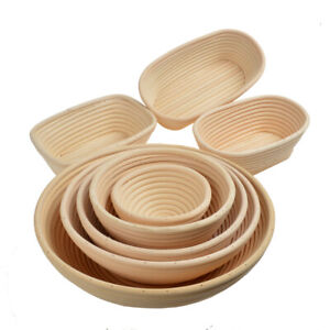 Oval Round Sourdough Proving Bannetons Bread Proofing Basket Bread Baking Mold