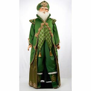 Katherine's Collection 2021 Nicholas Greene Life Size Santa Doll