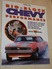 Big-Block Chevy Performance V8 Engine Book Manual By Dave Emanuel 396cid>454 rat