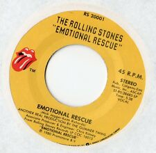"The Rolling Stones - Emotional Rescue 7"" Single 1980"
