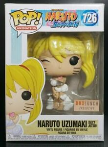 Funko Pop Naruto Uzumaki Sexy Jutsu Exclusive #726 Limited Edition W/Protector