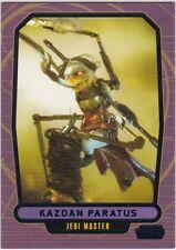 STAR WARS GALACTIC FILES SERIES 2 BLUE PARALLEL #545 KAZDAN PARATUS 119/350