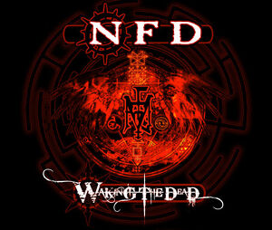 NFD 'Waking The Dead' CD album Goth Rock ft. Fields of the Nephilim sealed digi