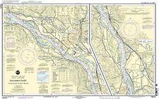 NOAA Chart Columbia River Crims Island to Saint Helens 37th Edition 18524