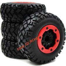 4pc RC 1/10 Short Course Off Road tires & 2.2/3.0 Beadlock Rims wheels Hex 12mm