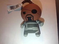 Nick Fury Figural Collectors KeyRing chain Marvel series 1