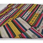 Antique Bhutanese Textile size 95 Cm x 82 Cm Natural fabric Yak wool Blanket