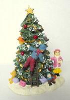Christmas  Village Christmas Town Tree Grandeur Noel 2000