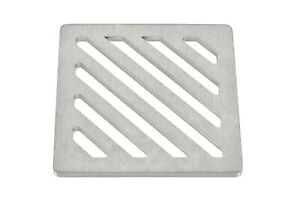 """120mm 12cm ~4.8"""" Square stainless steel drain cover gully grid grate"""