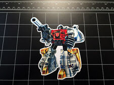 Transformers G1 Sludge box art vinyl decal sticker Autobot dinobots 1980's 80s