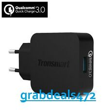 TRONSMART 18W FAST/TURBO USB WALL CHARGER WITH QUALCOMM QUICK CHARGE 3.0