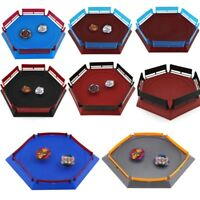 Burst Gyro Arena Disk Exciting Duel SpinningTop Beyblade Launcher Stadium Pan AN