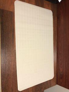 RUBBERMAID BATHMAT FLOOR NON-SLIP SECURITY SHOWER TUB Bath Mat 16x28 White