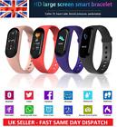 Smart Watch Bluetooth M5 Fitness Tracker Blood Pressure Heart Rate Sport Watches