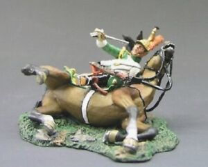 KING & COUNTRY THE AGE OF NAPOLEON NA044 FRENCH DRAGOON ON THE GROUND NA44
