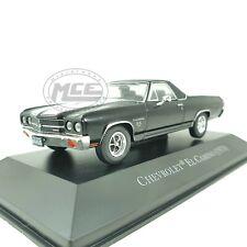 1/43COCHE CAR CHEVROLET EL CAMINO NEGRO 1970 ALTAYA AMERICAN CARS