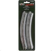 Kato 20-140 Rail Courbe / Curve Track R381mm 30° 4pcs - N