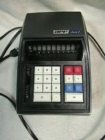 VINTAGE 1970'S APF ELECTRONICS INC Red LED Mark 1 Calculator  Made in Hong Kong