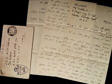 End of WW2  The Victory - Hebrew Letter,Jewish Brigade Soldier, Palestine-Italy