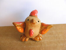 Little Guys Retired Rooster Miniature Animal Figurine Cindy Pacileo Pottery