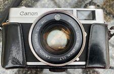 Canon CANONET S Vintage Fotocamera A Telemetro LENTE 45mm e f1.7 caso