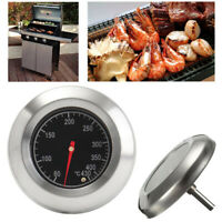 Smoker Dial Temp Kitchen Gage Grill Thermometer BBQ Instant Read Food Meat