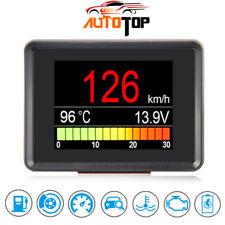Car OBD Smart Digital Auto Display Speedometer Coolant Temperature Gauge A203