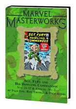 Marvel Masterworks Vol. 143 Sgt. Fury Nos.24-32, Anuual #2 HC Hardcover Variants