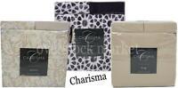 NEW CHARISMA 6 PIECE 100% BRUSHED MICROFIBER POLYESTER SHEET SET! VARIETY CLR/SZ