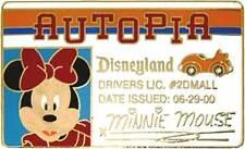 Disney DLR Autopia Driver's License Series Minnie Mouse Pin