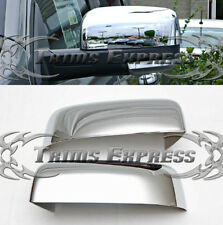 fit:2009-2018 Dodge Ram 1500/10-18 2500 Chrome Door Mirror Covers- Half Cover