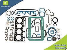 """New Aftermarket Full Gasket Set for Bobcat 743  """"Kubota v1702"""""""