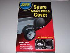 "Spare trailer wheel cover for 16"" diameter wheel 8"" rim Daxara/ Erde/ Maypole"