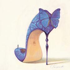 Inna Panasenko: Sketches of Love VIII Fertig-Bild 30x30 Wandbild High Heel Kult