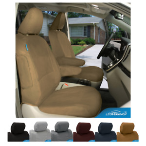 Seat Covers Polycotton Drill For GMC C/K Truck Custom Fit