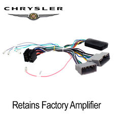 CTSCH00C Chrysler 300C Sebring Steering Wheel & Amplifier Turn On Interface