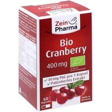 Bio Canneberge Capsules Végétariennes 400 MG 60 Pièces PZN10325973