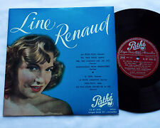 "Line RENAUD Ma petite folie 33 t  25 cm ORIGINAL PATHE 33 AT 1010 (1950)10""LP"