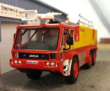 Gloster Saro Javelin Airport Airfield Crash Rescue Fire Engine Model 1:76 OO/00