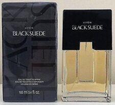 Avon Black Suede Cologne Spray 3.4oz Men's Oriental amber/moss/spicy/wood,musk