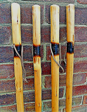 LARGE HIKING WALKING STICKS CANE SOLID THICK CHESTNUT WOOD FARMERS WALKING STICK