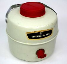 Vtg Knapp Monarch Therm-A-Jug Water Cooler One Gallon Picnic Cooler 1gal