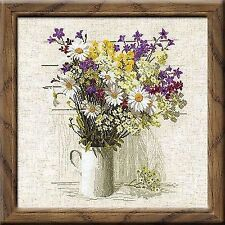 Counted Cross Stitch Kit RIOLIS - WILDFLOWERS