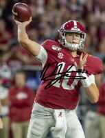Mac Jones Autographed Signed 8x10 Photo ( Alabama Crimson Tide ) REPRINT