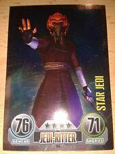 Force Attax Star Wars Serie 1 Star-Karte Nr.156 Plo Koon Sammelkarte