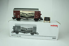 MARKLIN #58683 MUSEUMSWAGEN 2011 LEATHER TANNERY BOXCAR, NIB