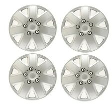 14  ALLOY LOOK CAR WHEEL TRIMS COVERS HUB CAPS fit NISSAN MICRA ALMERA PRIMERA